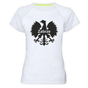 Koszulka sportowa damska Zabrze heraldyczny orzeł