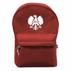 Plecak z przednią kieszenią Zabrze heraldyczny orzeł