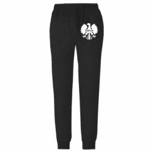 Spodnie lekkie męskie Zabrze heraldyczny orzeł