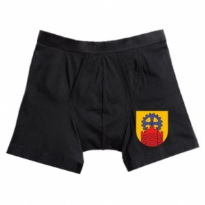 Boxer trunks Zabrze coat of arms