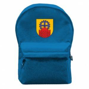 Plecak z przednią kieszenią Zabrze herb