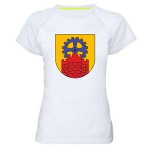 Koszulka sportowa damska Zabrze herb