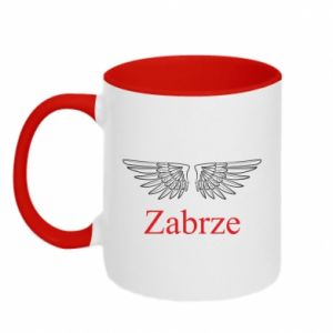 Two-toned mug Zabrze wings