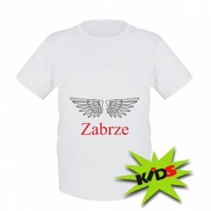 Kids T-shirt Zabrze wings