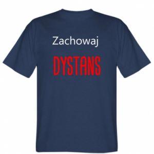 Koszulka Zachowaj dystans