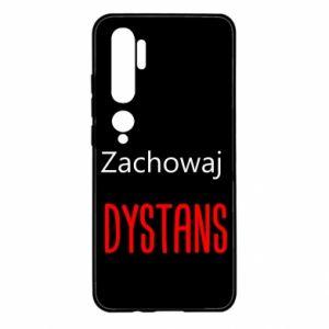 Etui na Xiaomi Mi Note 10 Zachowaj dystans