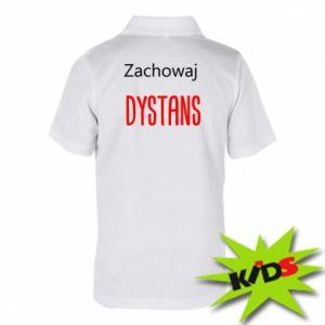 Children's Polo shirts Keep distance - PrintSalon