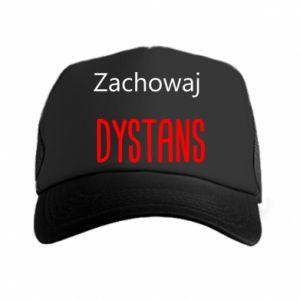 Trucker hat Keep distance - PrintSalon