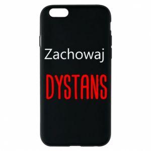 Phone case for iPhone 6/6S Keep distance - PrintSalon