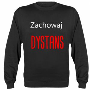 Sweatshirt Keep distance - PrintSalon