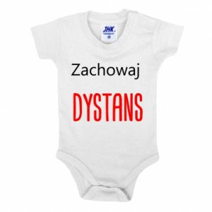 Baby bodysuit Keep distance - PrintSalon