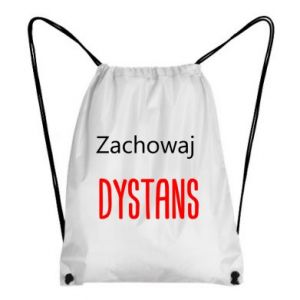 Backpack-bag Keep distance - PrintSalon
