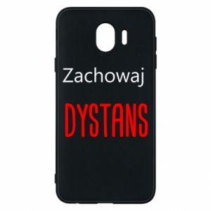 Phone case for Samsung J4 Keep distance - PrintSalon