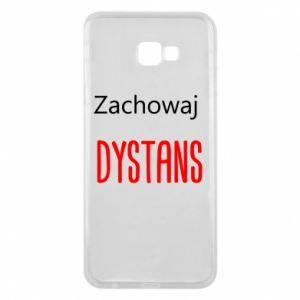 Phone case for Samsung J4 Plus 2018 Keep distance - PrintSalon