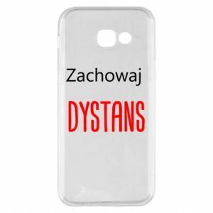 Phone case for Samsung A5 2017 Keep distance - PrintSalon