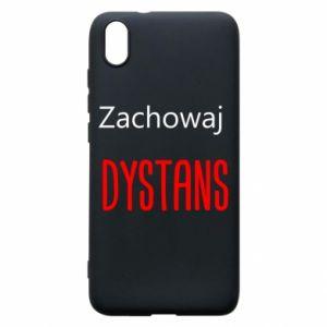 Phone case for Xiaomi Redmi 7A Keep distance - PrintSalon