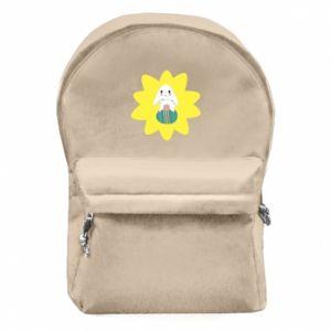Plecak z przednią kieszenią Zajączek