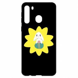 Samsung A21 Case Easter bunny
