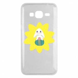 Phone case for Samsung J3 2016 Easter bunny