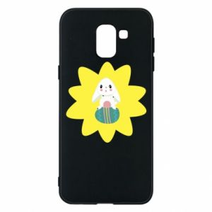 Phone case for Samsung J6 Easter bunny