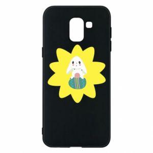 Samsung J6 Case Easter bunny