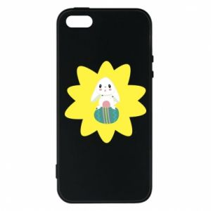 Phone case for iPhone 5/5S/SE Easter bunny