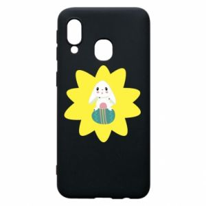 Samsung A40 Case Easter bunny