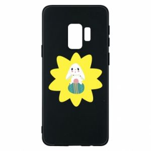 Phone case for Samsung S9 Easter bunny