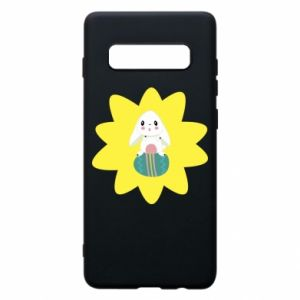 Phone case for Samsung S10+ Easter bunny