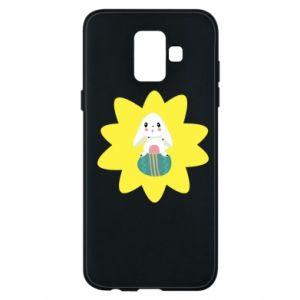 Samsung A6 2018 Case Easter bunny