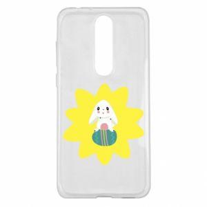 Nokia 5.1 Plus Case Easter bunny