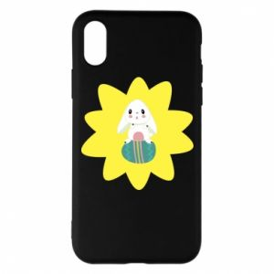 Phone case for iPhone X/Xs Easter bunny