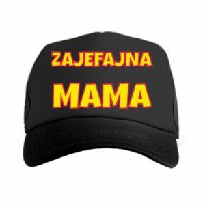 Czapka trucker Zajefajna mama