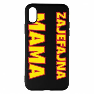 Phone case for iPhone X/Xs Cool mom