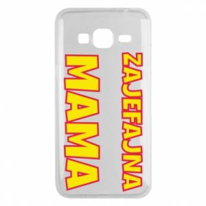 Phone case for Samsung J3 2016 Cool mom