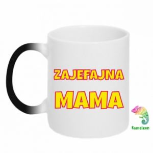 Kubek-kameleon Zajefajna mama