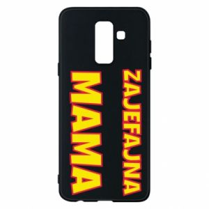 Phone case for Samsung A6+ 2018 Cool mom