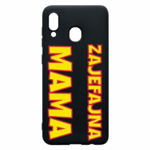 Phone case for Samsung A30 Cool mom