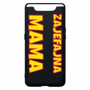 Phone case for Samsung A80 Cool mom