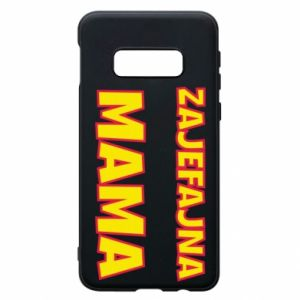 Phone case for Samsung S10e Cool mom