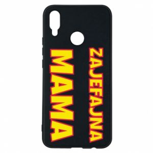 Phone case for Huawei P Smart Plus Cool mom