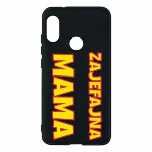 Phone case for Mi A2 Lite Cool mom