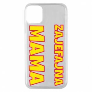 Etui na iPhone 11 Pro Zajefajna mama