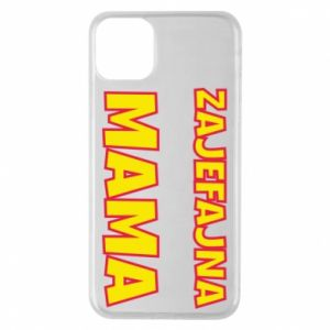 Phone case for iPhone 11 Pro Max Cool mom