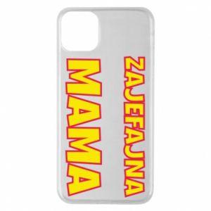 Etui na iPhone 11 Pro Max Zajefajna mama
