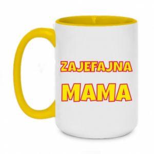 Two-toned mug 450ml Cool mom