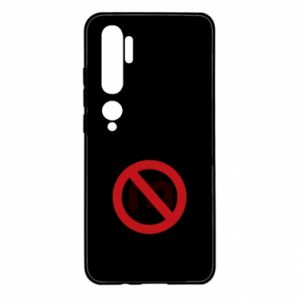 Xiaomi Mi Note 10 Case Ban on u-turns of the ass