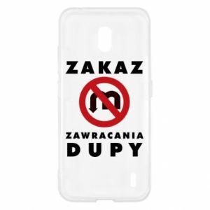 Etui na Nokia 2.2 Zakaz zawracania dupy