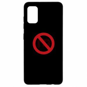 Etui na Samsung A41 Zakaz zawracania dupy