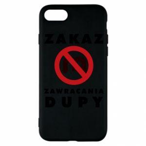 Etui na iPhone SE 2020 Zakaz zawracania dupy